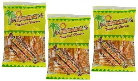 Smarties Tropical Flavors Candy Rolls, 5 oz Bag, Pack of 3 ()