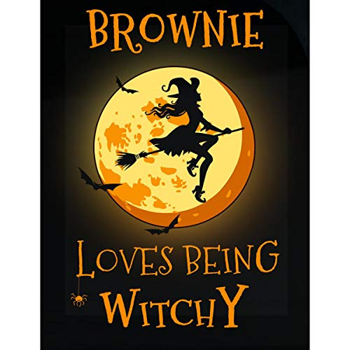 Inked Creatively Brownie Loves Being Witchy Sticker -