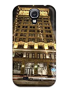 Galaxy S4 Case, Premium Protective Case With Awesome Look - Bright Lights