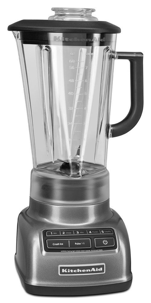 KitchenAid 605599-KSB1575QG KSB1575QG 5-Speed Diamond Blender with 60 oz. Pitcher, Liquid Graphite