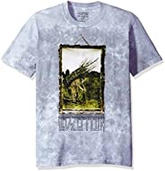 Liquid Blue Men's Led Zeppelin Man With Sticks Short Sleeve T-S
