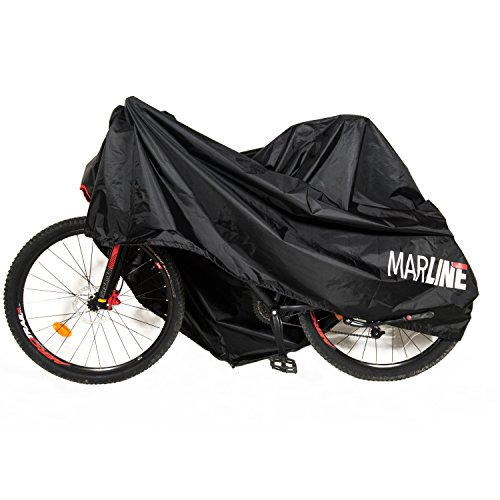 MarLine Bike Cover Outdoor Waterproof Bicycle Cover Dust Snow Proof with Lock Hole and Reflective Straps by Marline (Image #1)