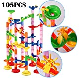 dOvOb Marble Run Construction Building Blocks STEM Toys - Railway Set - Marble Games for Kids As Gifts