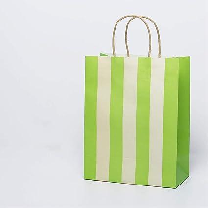 Conjunto de bolsa de papel de 20 kraft | bolsa de asas de ...