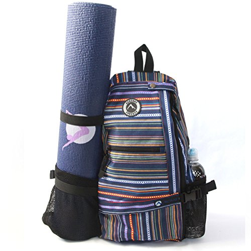 Aurorae Yoga Multi Purpose Cross-body Sling Back Pack Bag. Mat sold separately.