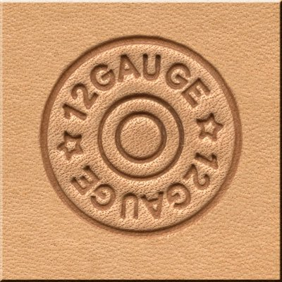 Springfield Leather Company Shotgun Shell 3D Leather Stamp