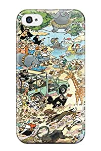 Awesome Design Mad Comics Anime Comics Hard Case Cover For Iphone 4/4s