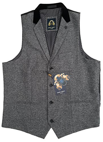 UOMO MARC Darcy Vintage Tweed con colletto gilet - Jo RONNY Grigio