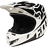 Fox Racing Race Youth V1 Motocross Motorcycle Helmet - Black / Small