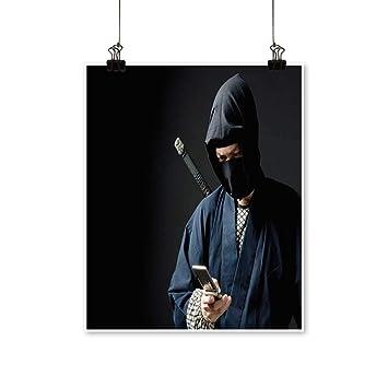 Amazon.com: Canvas Prints Artwork an Image of A Ninja ...