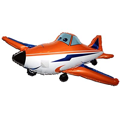 Fantastic Floatables Anti-Gravity Hovering Flying Floating RACE AIRPLANE 21 inch Toy Pet Balloon Party Favor: Toys & Games