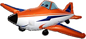 Fantastic Floatables Anti-Gravity Hovering Flying Floating RACE AIRPLANE 21 inch Toy Pet Balloon Party Favor