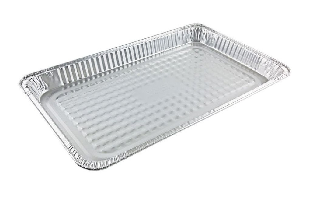 Full-Size Shallow Aluminum Foil Steam Table Pan 50/CS - Disposable Party Trays
