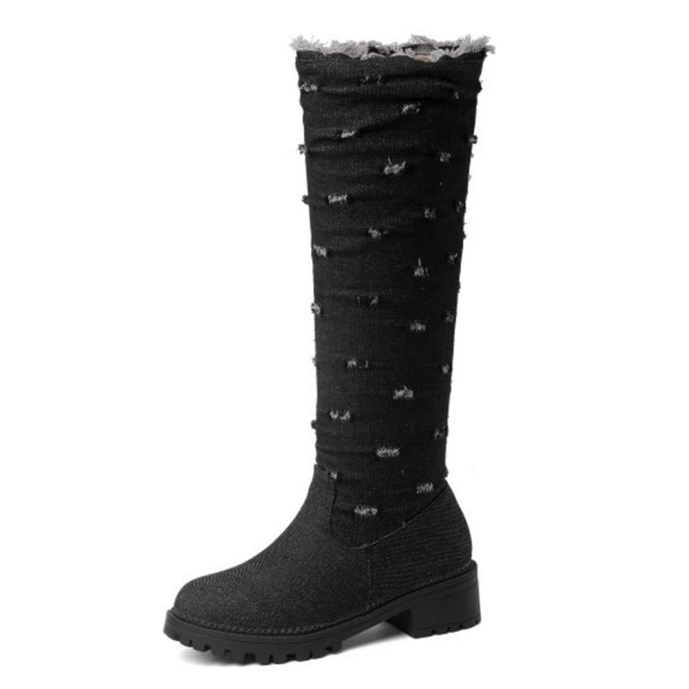 CuteFlats Boots , Boots Chelsea B078WW1Y6M Femme Noir Noir 6faa7c8 - boatplans.space