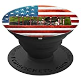 Minnesota Loon Baby Gift Mobile Accessory US Flag American - PopSockets Grip and Stand for Phones and Tablets