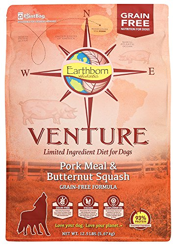 (Earthborn Holistic Venture Pork Meal And Butternut Squash Limited Ingredient Diet Grain Free Dry Dog Food, 12.5 Lb.)