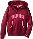 PUMA Big Girls' Logo Popover Hoodie