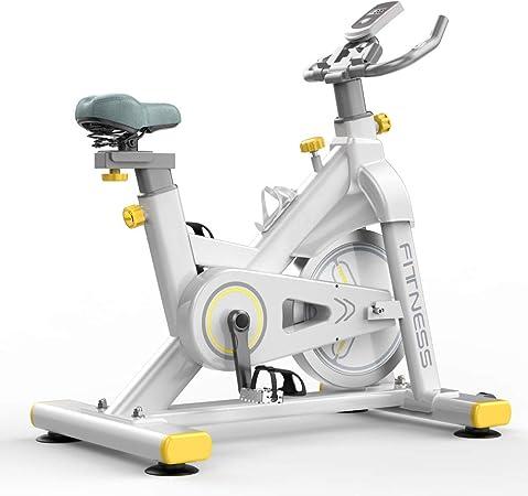 UNKB Controlado magnéticamente bajo nivel de ruido dinámico Indoor Cycling la bicicleta estática Inicio pedal for bajar de peso bicicleta de gimnasio equipo de ejercicio, bicicletas de interior Studio: Amazon.es: Hogar