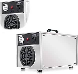 KEKE Generador De Ozono Industriales Purificador De Aire Ozono 5000Mg/H para Habitaciones, Humo, Coches: Amazon.es: Deportes y aire libre
