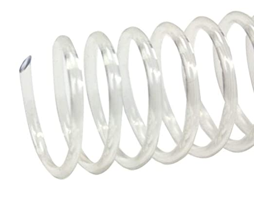 Spiral Coil Binding Spines 9mm pk of 100 11//32 x 36-inch Clear 4:1