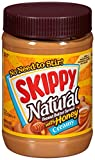 Skippy Natural Creamy with Honey Spread, 26.5 Ounce (Pack of 12)