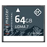 Promaster Compact Flash 64GB RUGGED Memory Card (6494)