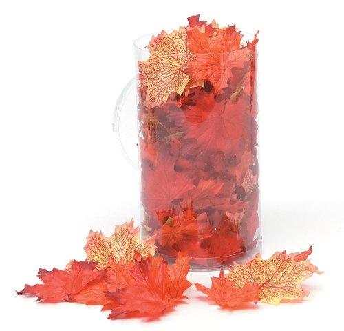 WGI Silk Screen Maple Leaves - Red/Orange/Yellow (100 Lea...