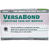 Custom Building Products MTSG50 VersaBond Fortified Thin-Set, 50-Pound, Mortar Grey