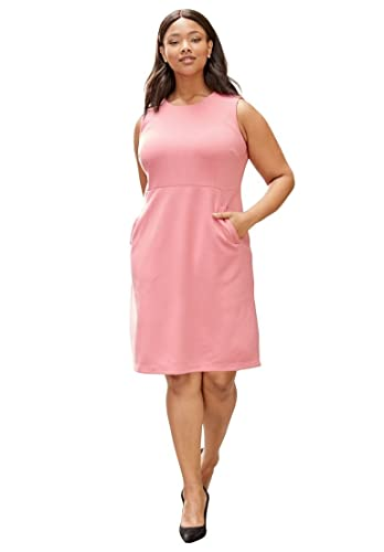 Jessica London Women's Plus Size Ponte Sheath Dress