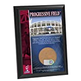 MLB Cleveland Indians Progressive Field 4x6-Inch Game Used Dirt Plaque Photomint