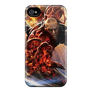 Warp Factor For Iphone 4/4S Case Cover By James Biggie