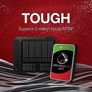 Seagate IronWolf Pro 16TB NAS Internal Hard Drive HDD – CMR 3.5 Inch SATA 6GB/S 7200 RPM 256MB Cache for Raid Network…