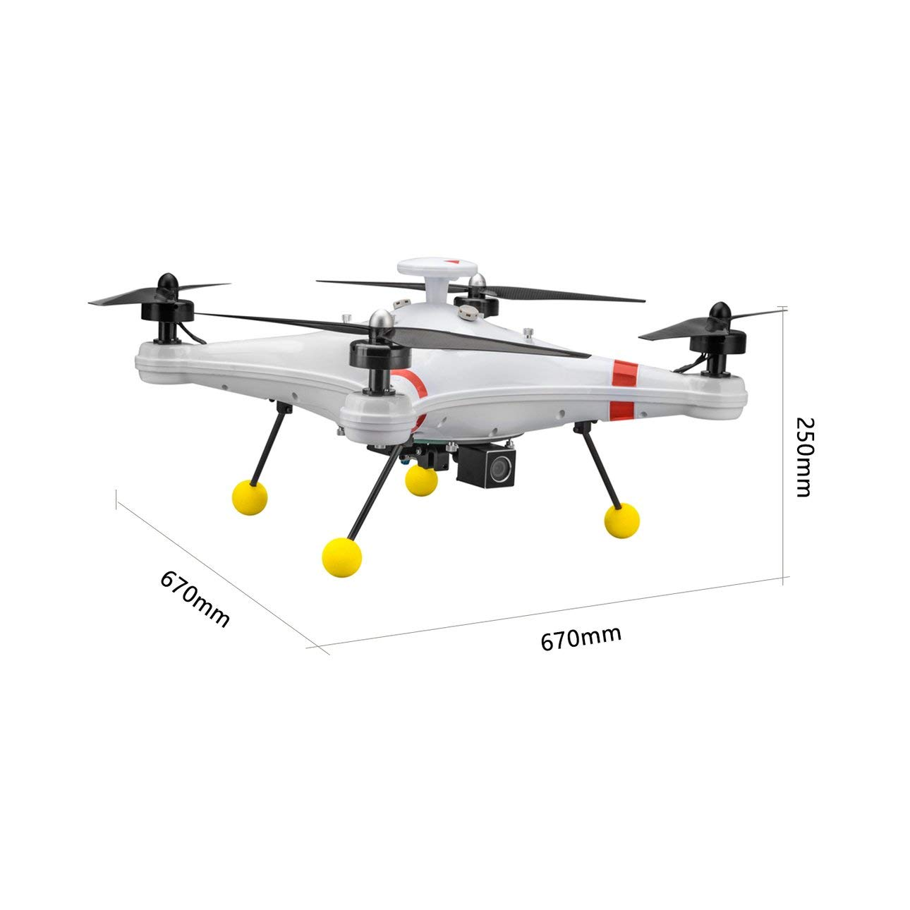 Ballylelly H480 Brushless 5.8G FPV 700TVL cámara GPS Quadcopter ...