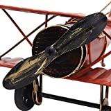 Vintage Retro Iron Aircraft Handicraft - Metal