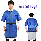0.35mmpb X-Ray Protection Lead Apron Free Radiation Shield Half Sleeves With Belt