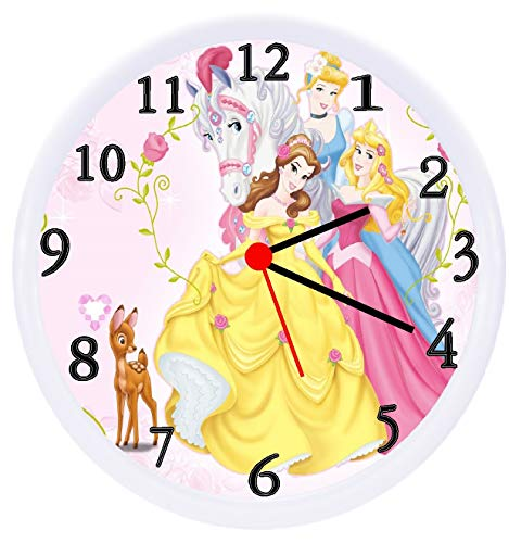 (Quartz Disney Princess Wall Clock)