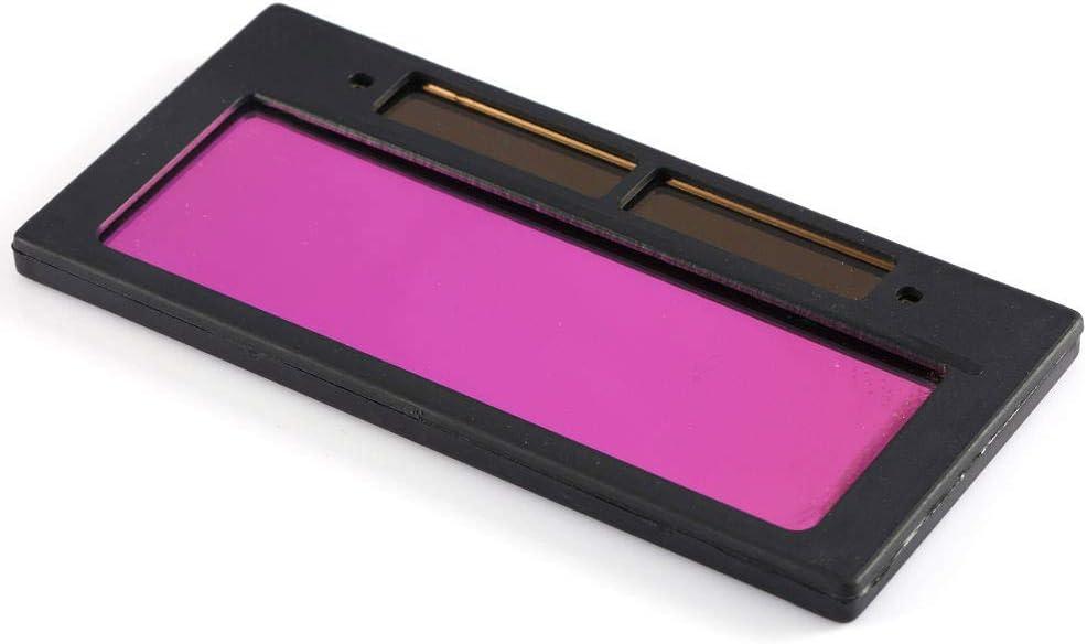 Soldadura Lente Sombra Solar Autom/ático Filtro Ventana Apertura Gafas Gafas Escudo Oscurecimiento Casco