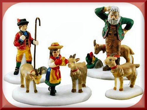 Dept 56 Alpine Village Heidi & Her Goats (56.56201)