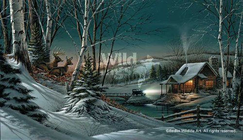 Wild Wings Evening with Friends Elite Print by Terry Redlin (Terry Redlin Best Friends Print)