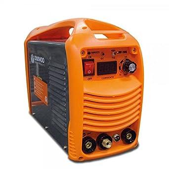 Daewoo 0005876 Soldadora Inverter TIG/MMA, 2 Funciones, 370 mm x 160 mm x 300 mm, 20-160 A, 4200 W: Amazon.es: Industria, empresas y ciencia