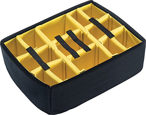 CVPKG presents - Yellow padded divider set & Lid foam to fit Pelican 1560.