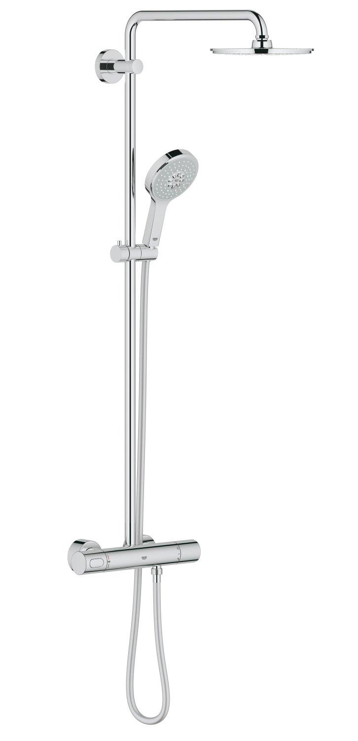 GROHE Sistema Doccia con Miscelatore Termostatico Rainshower System Cromo 27968000