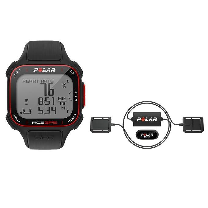 Polar -Pulsómetro de Entrenamiento Equine RC3 GPS Redding: Amazon ...