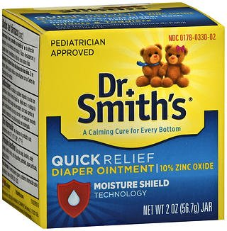 Dr. Smith's Diaper Rash Ointment - 2 oz, Pack of 2 by Dr. Smiths