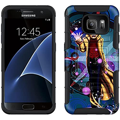 Samsung Galaxy S7 Armor Hybrid Case The Master Magician 2 Piece Case with Holster for Samsung Galaxy S7 Sales
