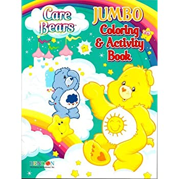 Amazon Care Bears Jumbo Coloring Activity Book