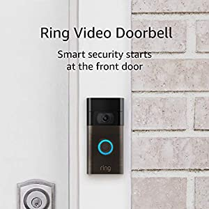 Ring Video Doorbell – 1080p HD video, improved motion detection, easy installation – Venetian Bronze (2020 release)