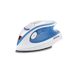 Sunbeam Hot-2-Trot 800 Watt Compact Non-Stick Soleplate Travel Iron,GCSBTR-100-000