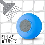 Splash Tunes Shower Speaker – Waterproof Bluetooth Hands-Free Shower...
