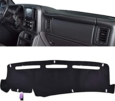 Amazon Com Xukey Dashboard Cover For Chevrolet Silverado 1500 2500 3500 1999 2006 Avalanche Chevy Tahoe Suburban Gmc Sierra Yukon Dash Cover Mat Automotive